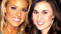 PHOTO Sisters Carrie, left, and Christina Prejean, are shown in this photo. Christina admitted she was surprised to hear the beauty queen, 21, call her a gay activist.