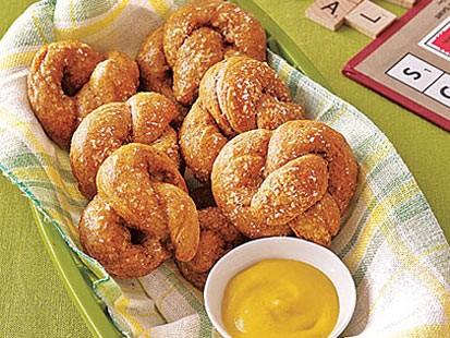 PHOTO: MyRecipes baked soft pretzels are shown here.
