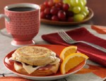 PHOTO: Thomas English Muffins protein press english muffin is shown here.