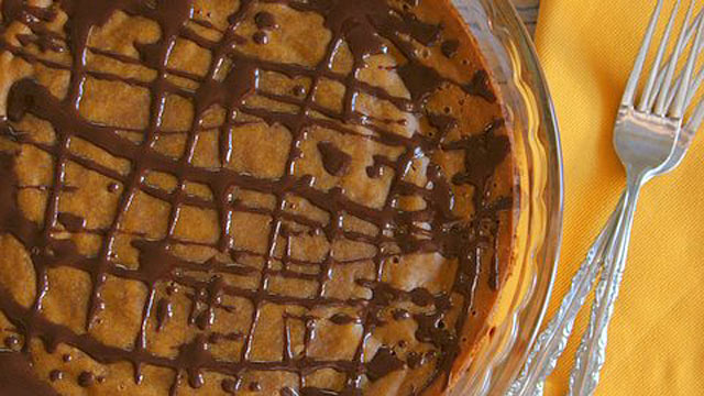 PHOTO: Hallie Klecker's gluten-free pumpkin pie.