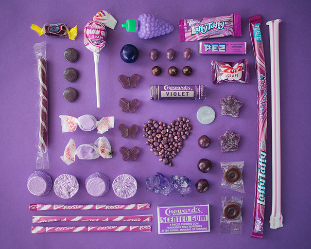 ht purple emily blincoe sugar series lpl 130905 blog PHOTOS: All The Candies of The Rainbow