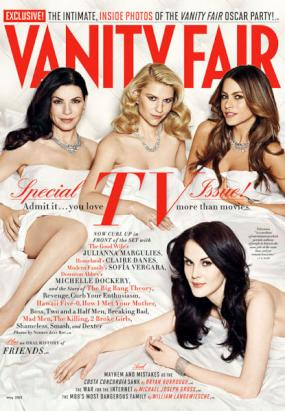 Michelle Dockery, Claire Danes, Juliana Marguilies, Sofia Vergara