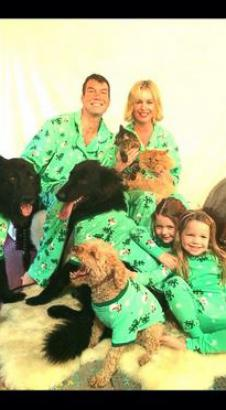 Rebecca Romijn Shares Her (Pet-Friendly!) Christmas Card