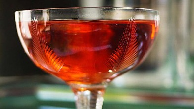 "PHOTO: The Revolutionary Kir cocktail inspired by ""Les Miserables"" is shown here."