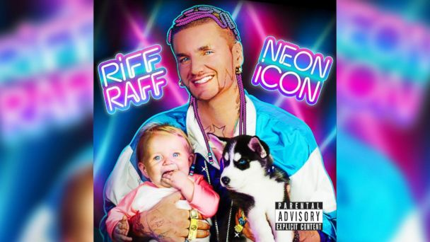 "PHOTO: Riff Raff - ""Neon Icon"""