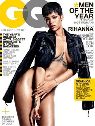 Rihanna Nearly Nude