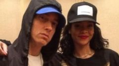Rihanna Hangs Out with Pal Eminem