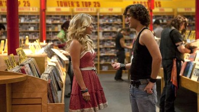 PHOTO: Diego Boneta, left, and Julianne Hough in Rock of Ages.