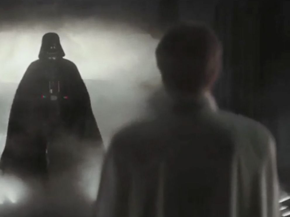 PHOTO: Darth Vader appears in the trailer for Rogue One: A Star Wars Story.