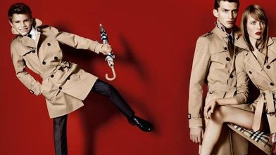 PHOTO: Romeo Beckham, left, stars in Burberry's Spring/Summer 2013 ad campaign.