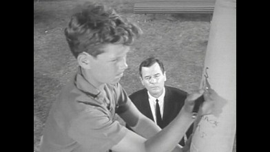 "PHOTO: Gig Young in ""Walking Distance"" episode of ""Twilight Zone""."