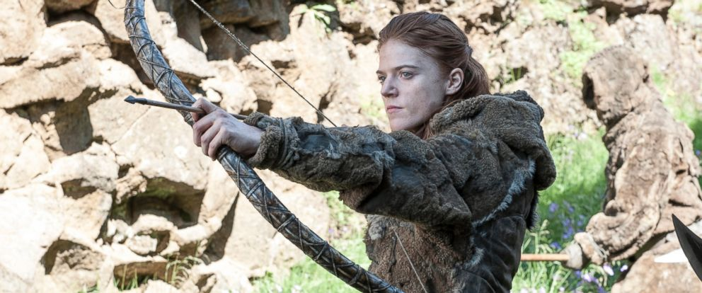 "PHOTO: Rose Leslie is pictured in season 4 of ""Game of Thrones."""