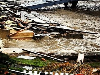 Stars Share Sandy Destruction Photos