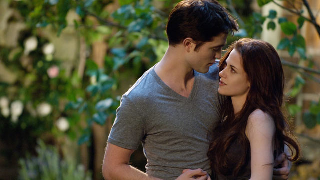 "PHOTO: Robert Pattinson and Kristen Stewart star in ""The Twilight Saga: Breaking Dawn - Part 2."""