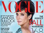 PHOTO: Sandra Bullock appears on the October 2013 issue of Vogue Magazine.