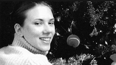 Throwback Thursday! Scarlett Johanssons 2002 Tree Decorating Party