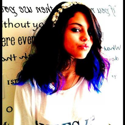 Selena Gomez's Purple Hair!