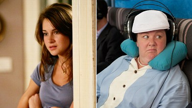 PHOTO: Shailene Woodley and Melissa McCarthy