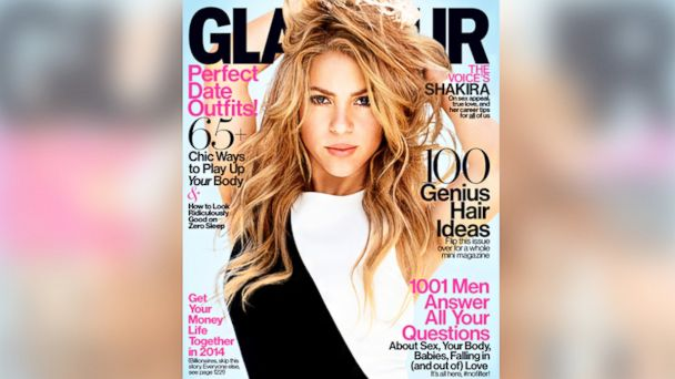 ht shakira glamour2 kab 140108 16x9 608 See Who Shakira Calls Sexiest Woman on Planet