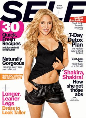 Shakira Flaunts Killer Abs 7 Months After Pregnancy