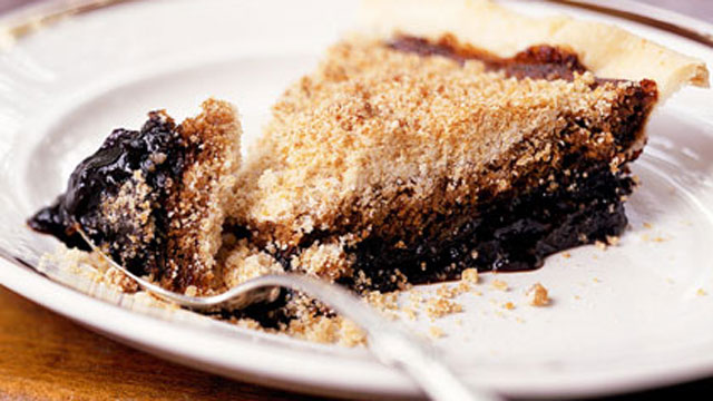PHOTO: Cooking Light's shoofly pie is shown here.