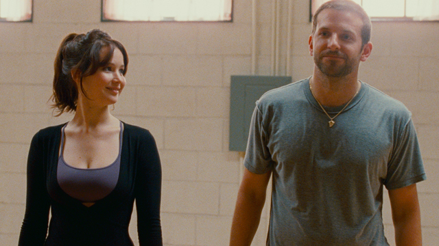 "PHOTO: Jennifer Lawrence and Bradley Cooper are seen in a still from ""Silver Linings Playbook."""
