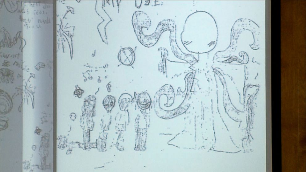Slender Man Stabbing Drawings Slender Man Stabbing