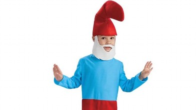 PHOTO:Smurf Halloween costume.