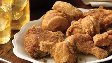 PHOTO: Paula Deen's deep fried chicken is shown here.