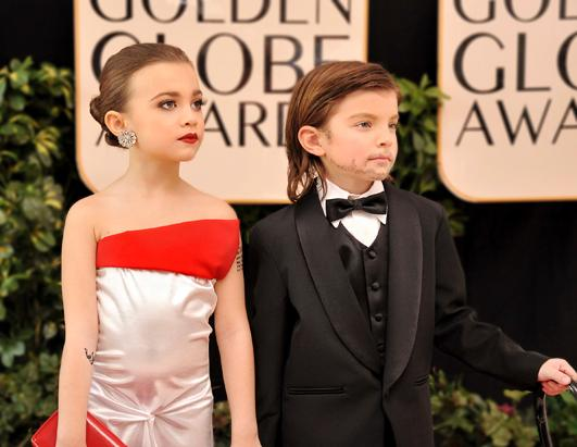 Toddlewood Goes to the Golden Globes