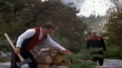 PHOTO: Captains Kirk and Picard Finally Meet in Star Trek: Generations (1994)