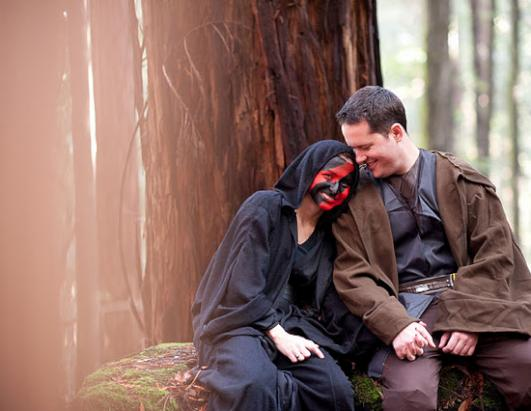 Star Wars Engagement Shoot