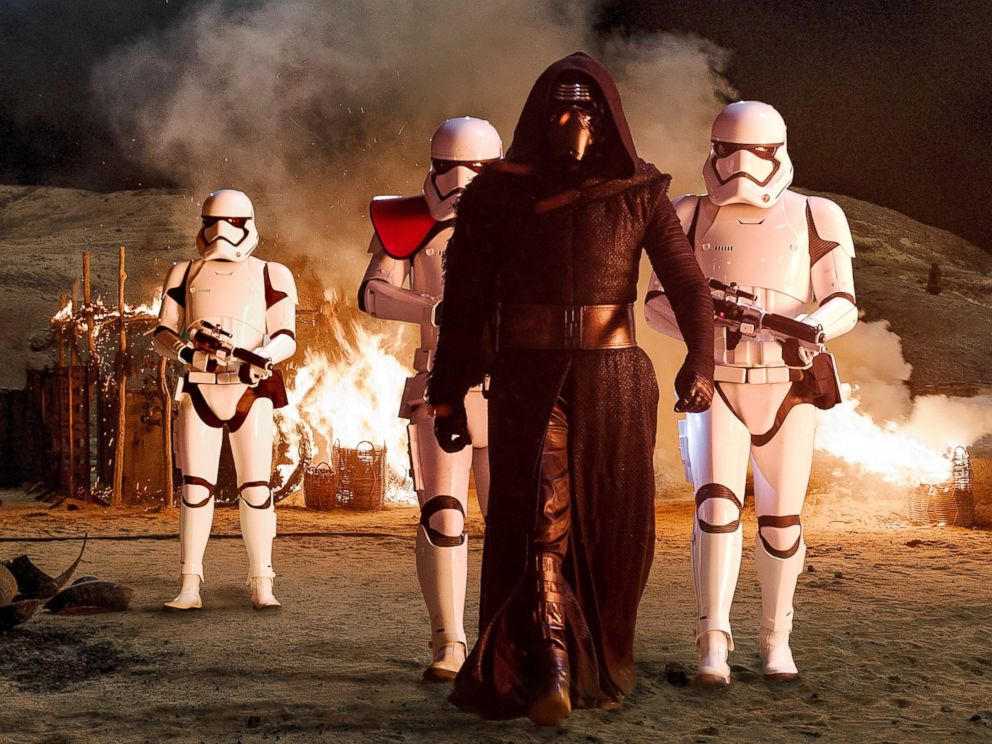PHOTO: Adam Driver plays Kylo Ren in Star Wars: The Force Awakens.