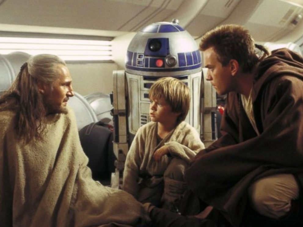 PHOTO: Liam Neeson, Jake Lloyd and Ewan McGregor as Jedis in Star Wars: Episode I - The Phantom Menace, 1999.