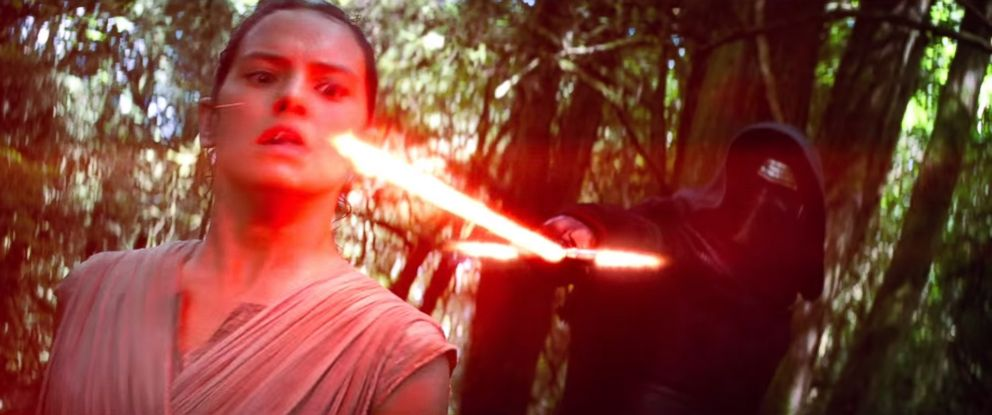 """PHOTO: Daisy Ridley is seen in a still made from a trailer for """"Star Wars: Episode VII - The Force Awakens"""" posted to YouTube on Nov. 6, 2015."""