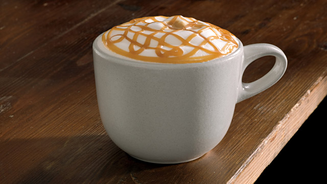 PHOTO: Caramel macchiato