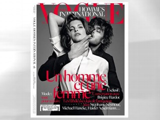 Vogue Under Fire for Choking Cover