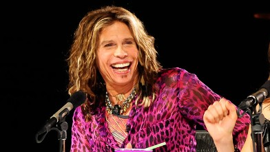PHOTO: Steven Tyler at Hollywood Week on American Idol.