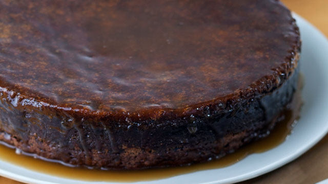 PHOTO: Ina Garten's sticky toffee pudding recipe is shown here.