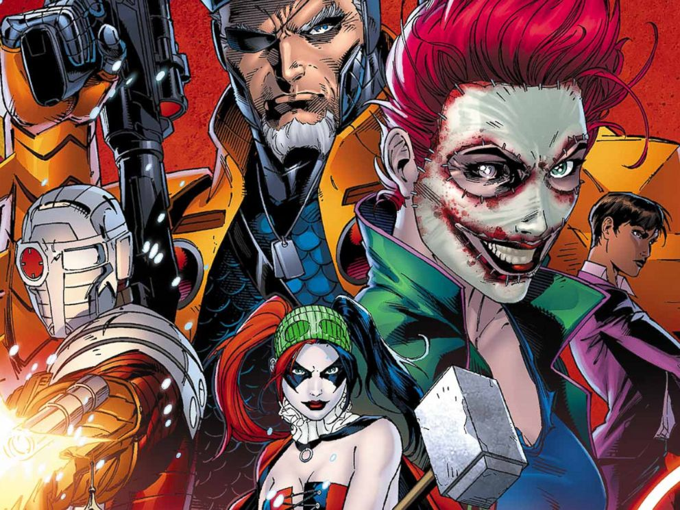 PHOTO: The cover of Suicide Squad #2 is pictured.