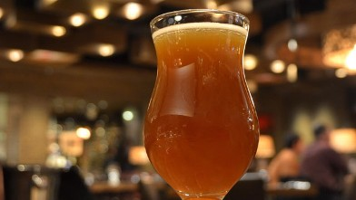 PHOTO: The sweet blonde beer cocktail is shown here.