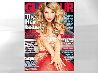 Taylor Swift: Behind the Scenes at Glamour Shoot