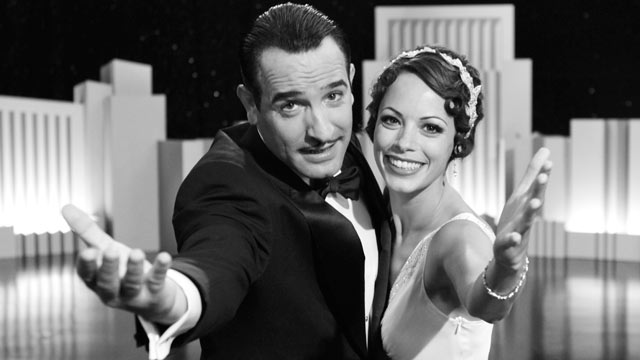 "PHOTO: ""The Artist"" starring Jean Dujardin and Berenice Bejo."