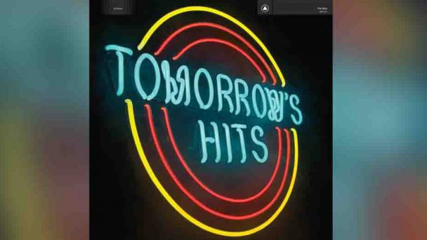 "PHOTO: The Mens album ""Tomorrows Hits"""