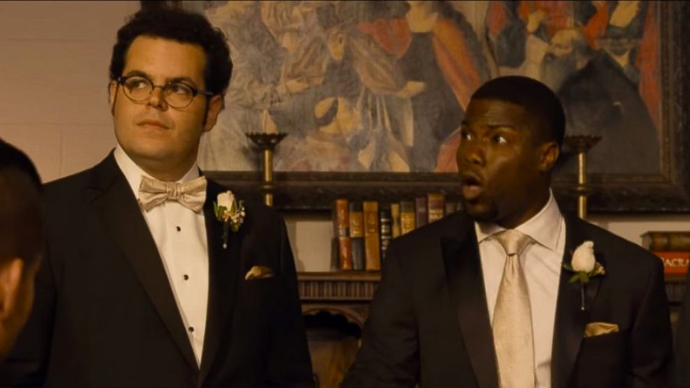 Movie Review The Wedding Ringer Starring Kevin Hart Josh Gad Kaley Cuoco