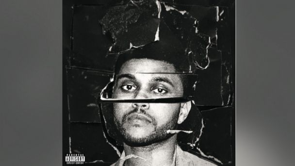 PHOTO: The Weeknds Beauty Behind The Madness album cover is seen in this file photo.