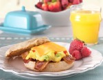 PHOTO: Thomas English Muffins egg muffin sandwich is shown here.