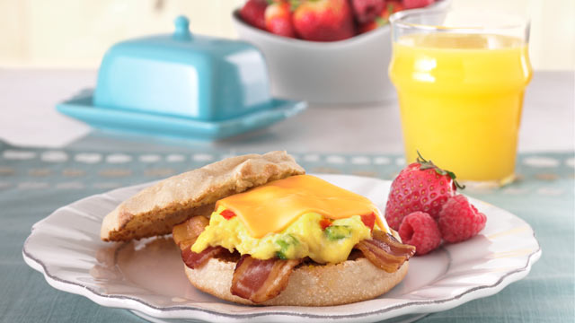 'Go Home Thomas' Egg And Sausage Sandwich Recipe — Dishmaps