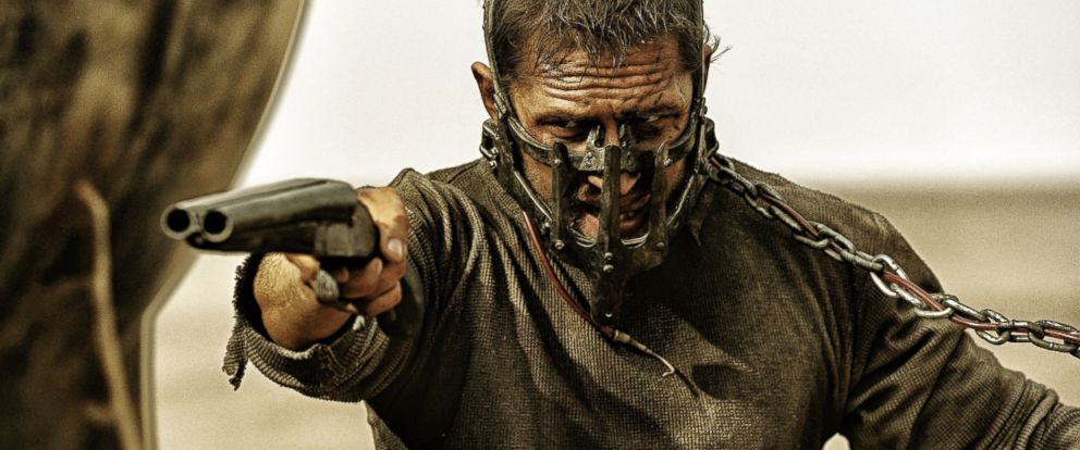 "PHOTO: Tom Hardy appears in an image from ""Mad Max: Fury Road."""