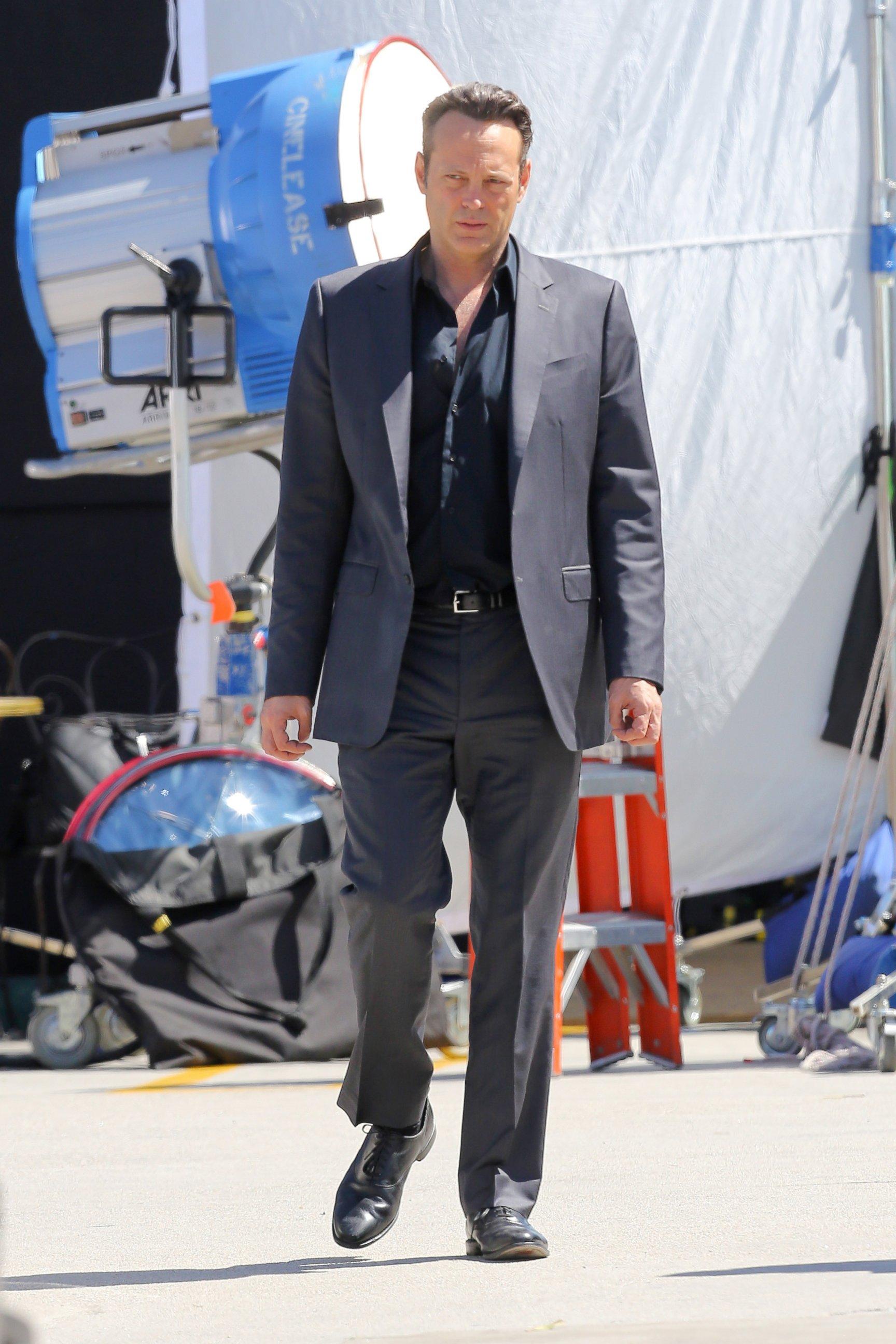 Vince Vaughn Gets to Work on True Detective